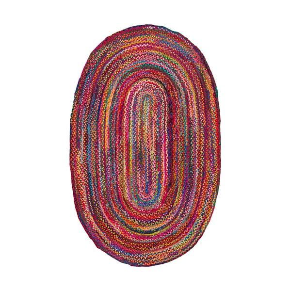 Bavlněný koberec Multi Hex, 122x182 cm