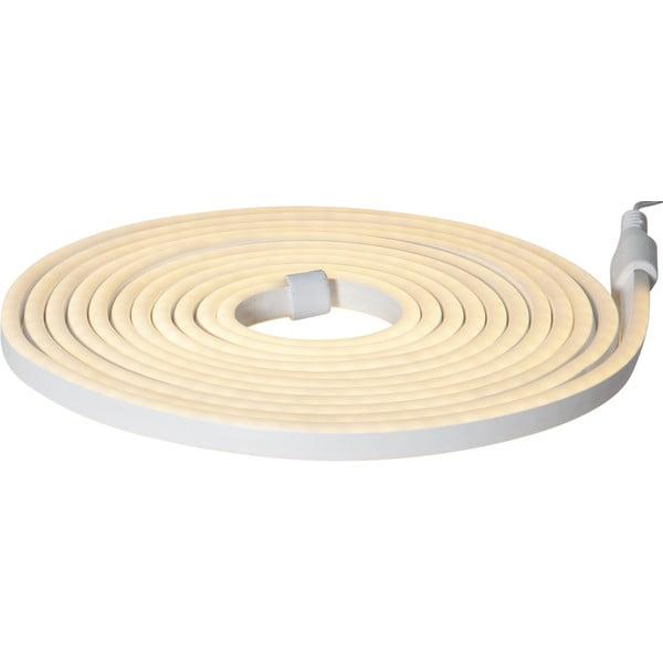 Jasnożółta ogrodowa girlanda świetlna Best Season Rope Light Flatneon, dł. 500 cm