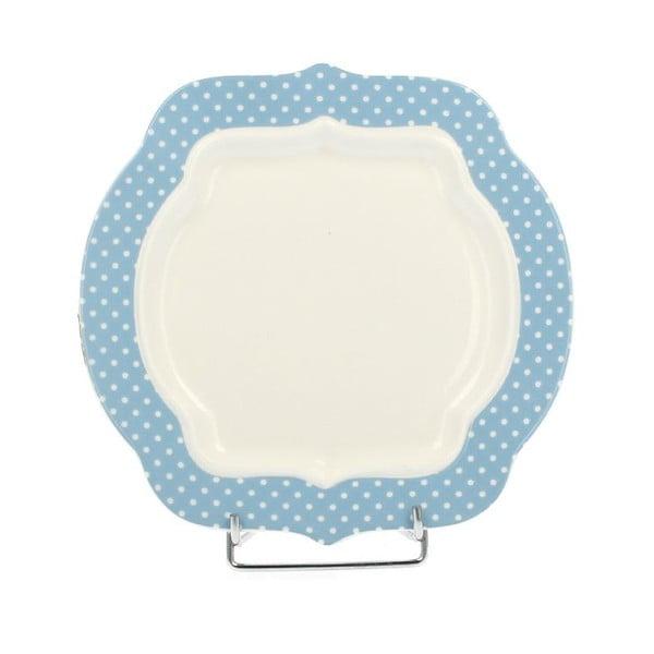Porcelánový dezertní talíř Retro Blue, 21 cm