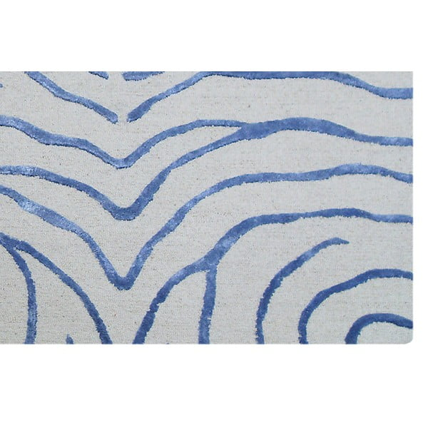 Koberec Bakero Zebra Light Blue, 122x183 cm