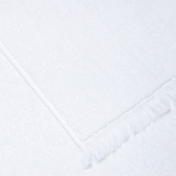 Sada 2 bílých bavlněných osušek Casa Di Bassi Bath, 100x160cm