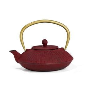 Červenálitinová konvice se sítkem na sypaný čaj Bredemeijer Linhai, 1,1 l