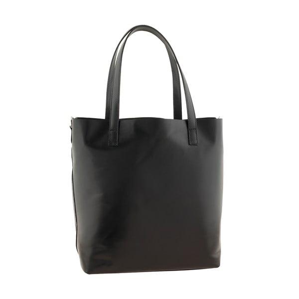 Černá kožená kabelka Ore Diece Trapani