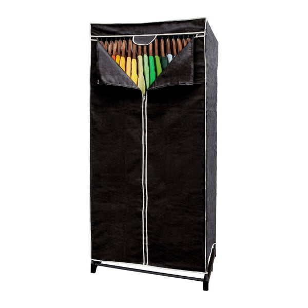Textilní skříň na šaty Jocca All Black