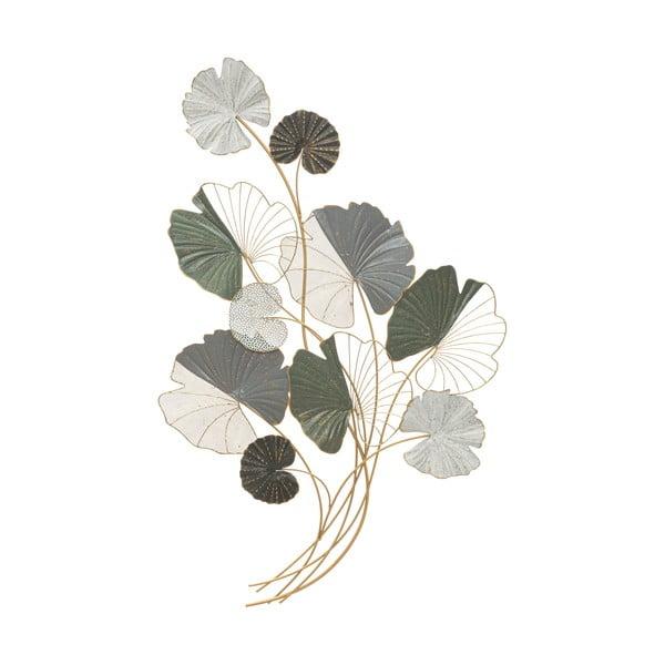 Kovová závěsná dekorace Mauro Ferretti Lotus, 70,5 x 108,5 cm