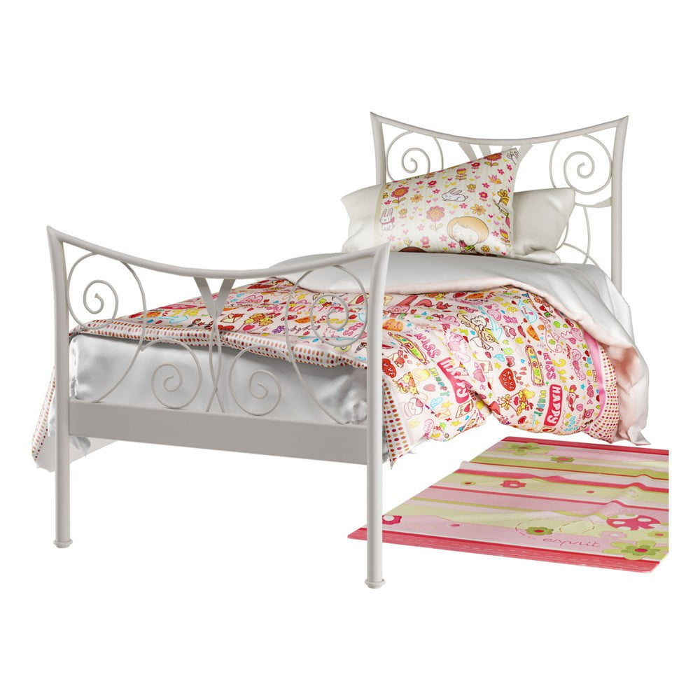 7dbe52323d99 Bílá kovová postel Støraa Elizabeth
