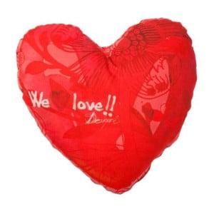 Polštář DESIGUAL Scarlet Heart