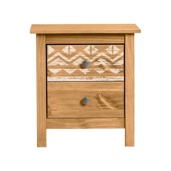 Noční stolek z borovicového dřeva Marckreric Apache