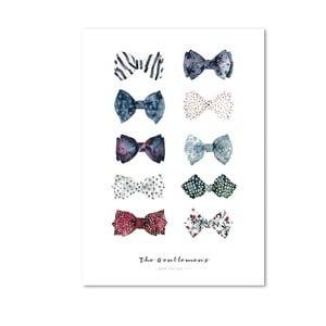 Plakát Leo La Douce The Gentlemen's Bow Ties I, 21x29,7cm