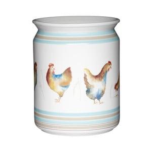 Keramická dóza na kuchyňské nástroje Kitchen Craft Hen House