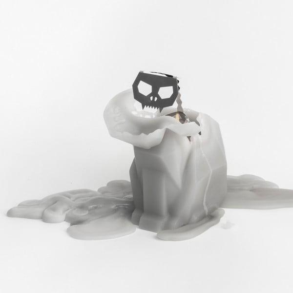 Svíčka Pyropet Kisa Grey