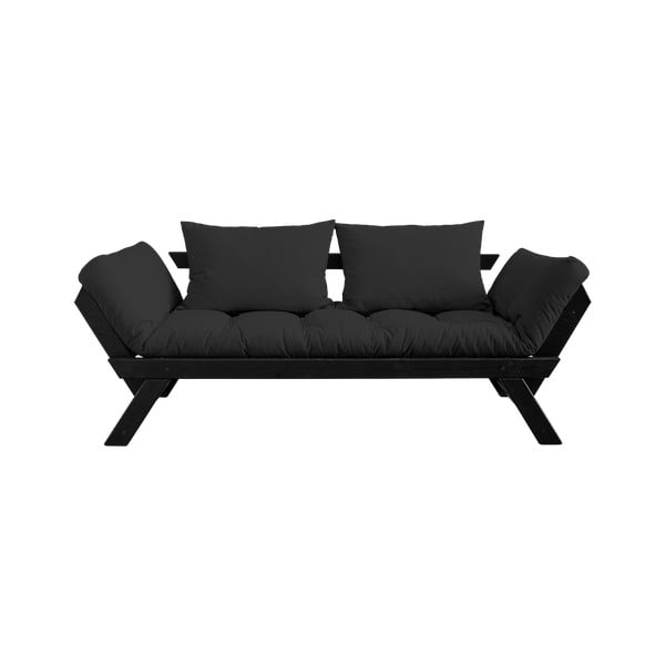 Sofa rozkładana Karup Design Bebop Black/Dark Grey
