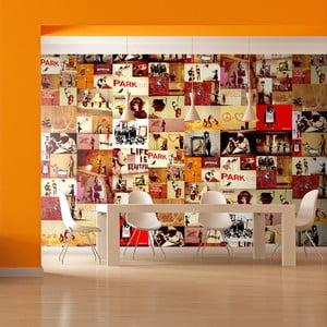Tapeta v roli Bimago Banksy Collage, 0,5x10m