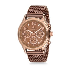 Pánské hodinky bronzové barvy z nerezové oceli Bigotti Milano Lukino