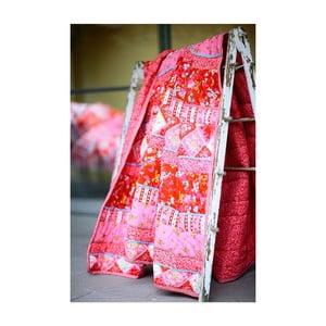 Přehoz Flower Harmony Red 220x265 cm