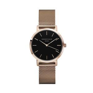 Dámské hodinky s černým ciferníkem RosefieldTheTribeca