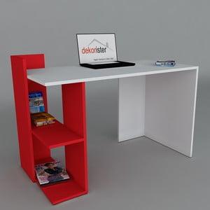 Pracovní stůl Arrival Red, 60x120x73,8 cm