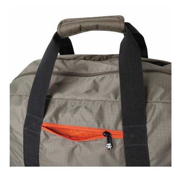 Cestovní taška Track Jack Duffel, šedá