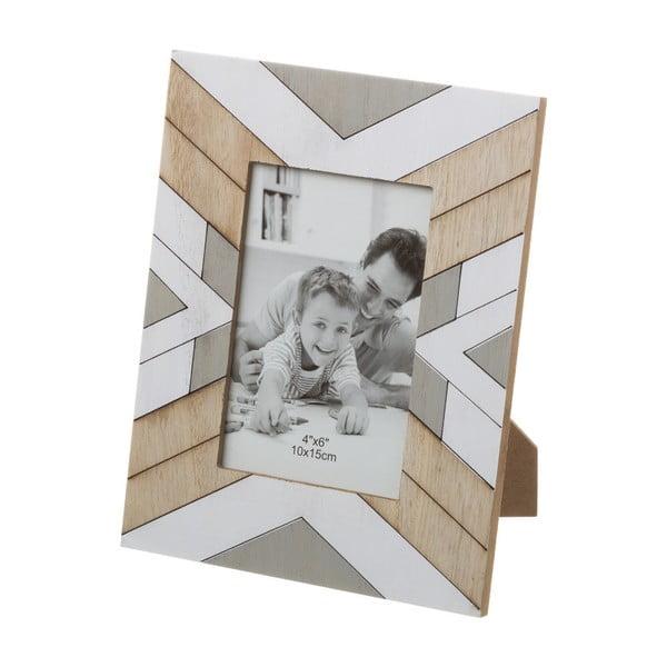 Bézs-szürke képkeret, 18 x 23 cm - Unimasa