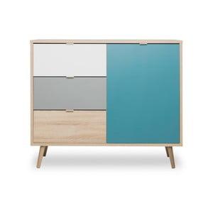Barevná komoda Intertrade Cuba, 103 x 85 cm