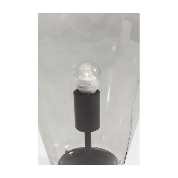 Černá stolní lampa Kare Design Bulb