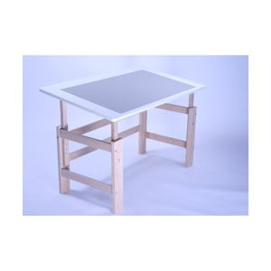 Dětský psací stůl s nastavitelnou výškou Manis-h Lujo, 115x65cm