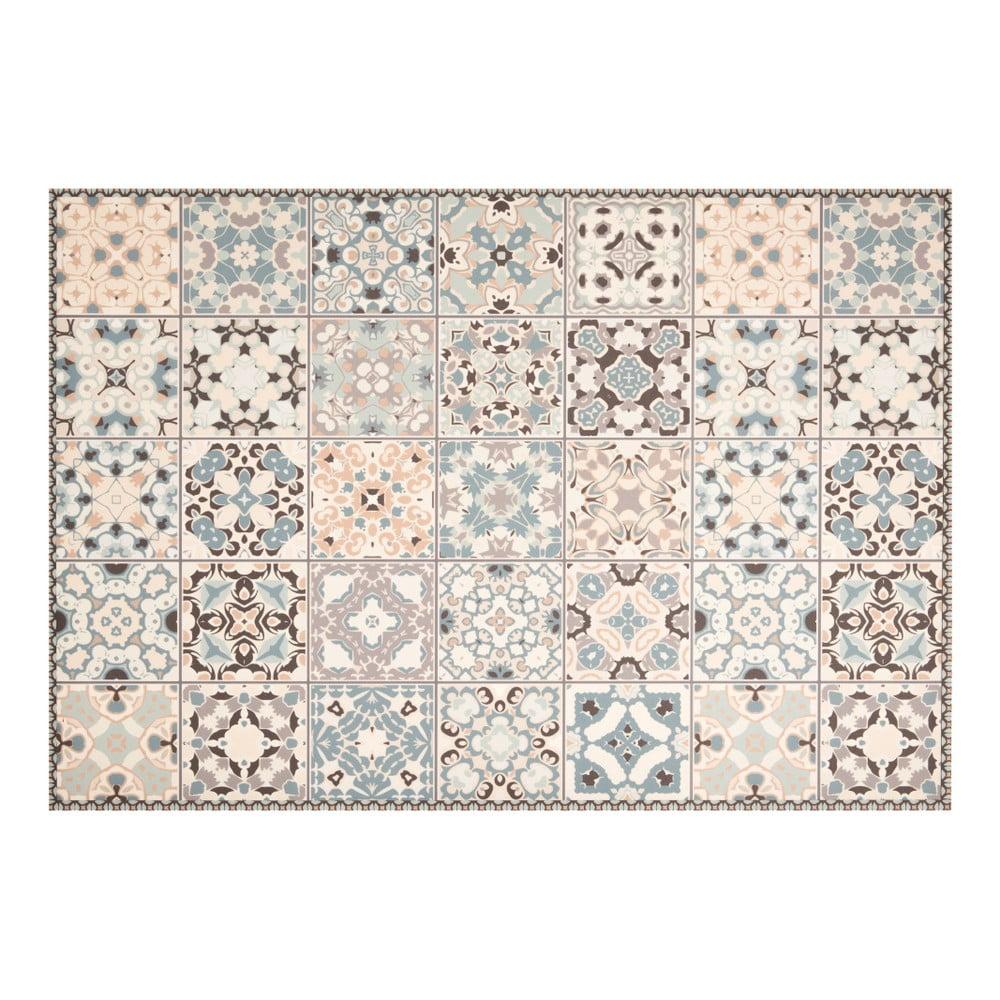 Vzorovaný vinylový koberec Zala Living Zoe Light,195 x 120 cm