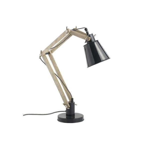 Stolní nastavitelná lampa Retro, černá