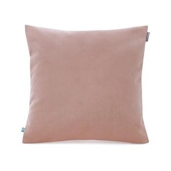 Față de pernă decorativă Mumla Velvet, 45 x 45 cm, roz pudră