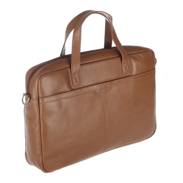 Kožená taška Stockbridge Chestnut