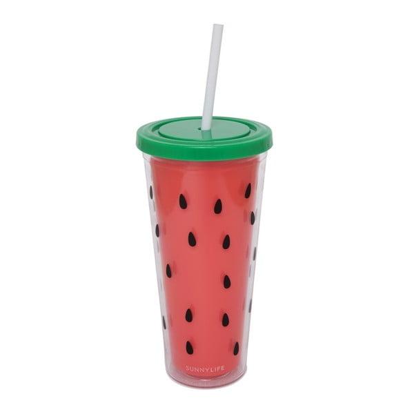 Dvoustěnný kelímek Sunnylife Watermelon, 650 ml