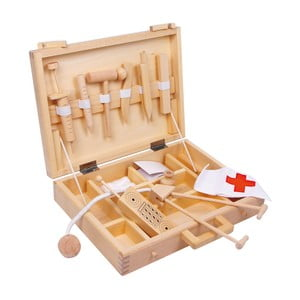 Dřevěná lékařská sada na hraní Legler Doctor