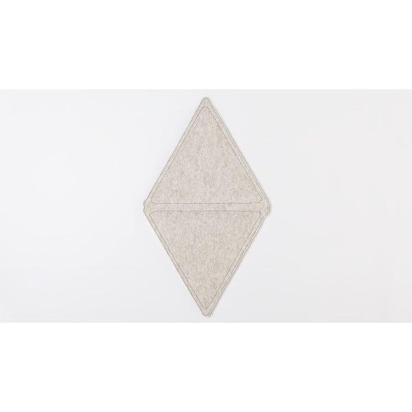 Modulový koberec Edera, šedý