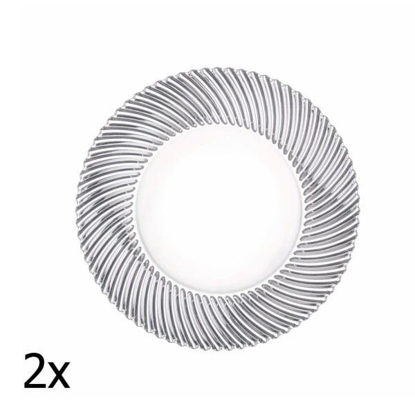 Set 2 talířů Dancing Stars - Samba, 27 cm