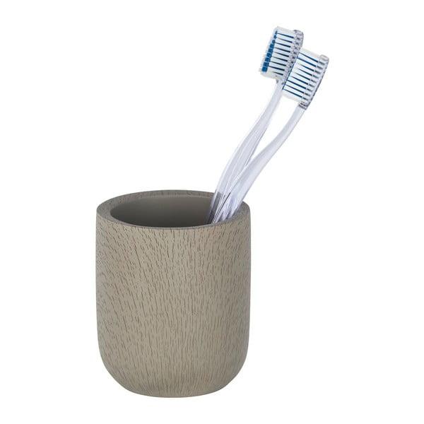 Suport pentru periuțe dinți Wenko, gri - maro