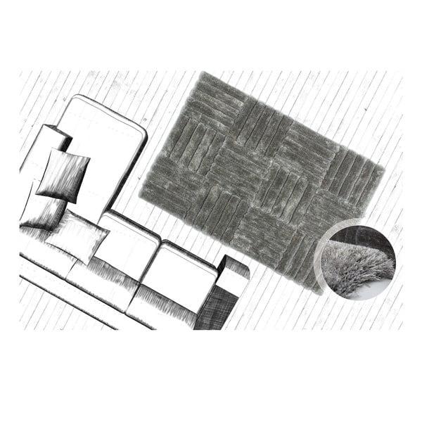 Koberec Solstice 160x230 cm, stříbrný