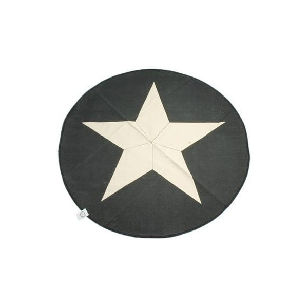Koberec Star 120 cm, šedý