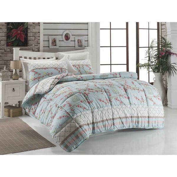 Pikowana narzuta na łóżko dwuosobowe Loisa, 195x215 cm