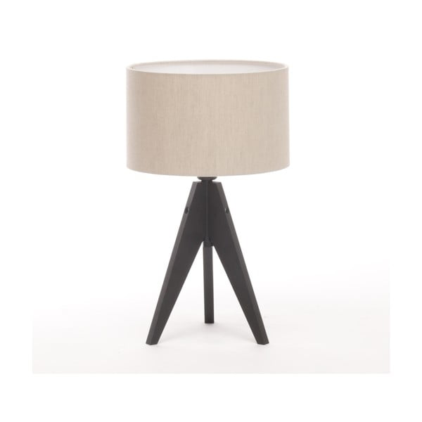 Stolní lampa Arist Cylinder Natural/Black