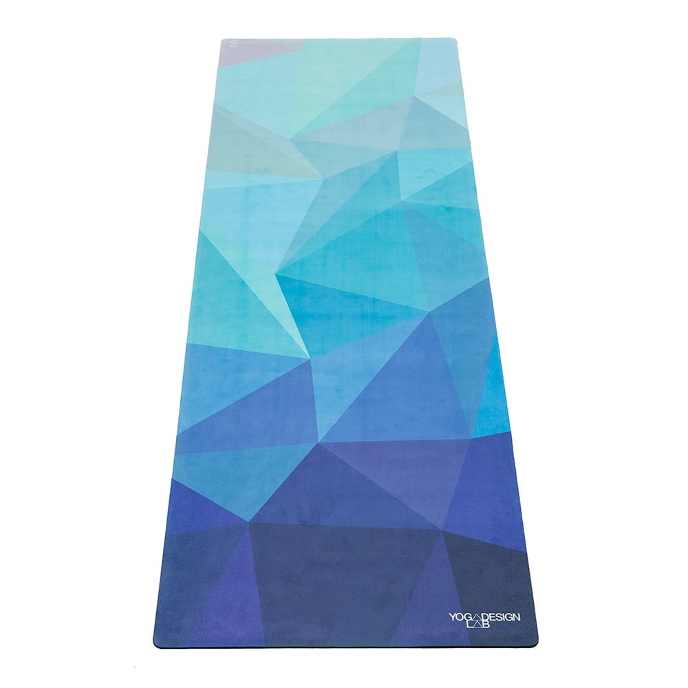 Podložka na jógu Yoga Design Lab Travel Geo Blue, 900 g