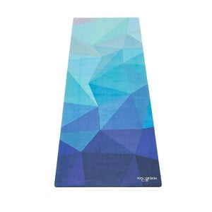 Saltea pentru yoga Yoga Design Lab Travel Geo Blue