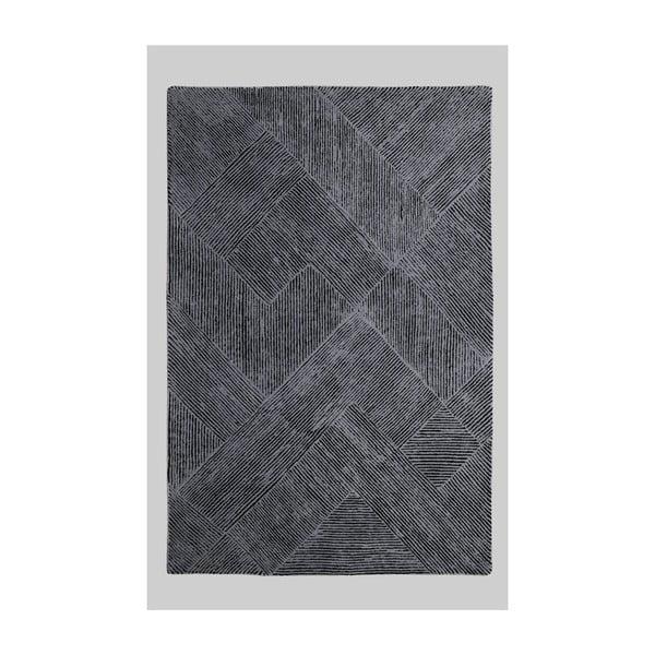 Vlněný koberec Balta Graphite, 160x230 cm