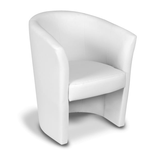 Biały fotel Evergreen House Dino