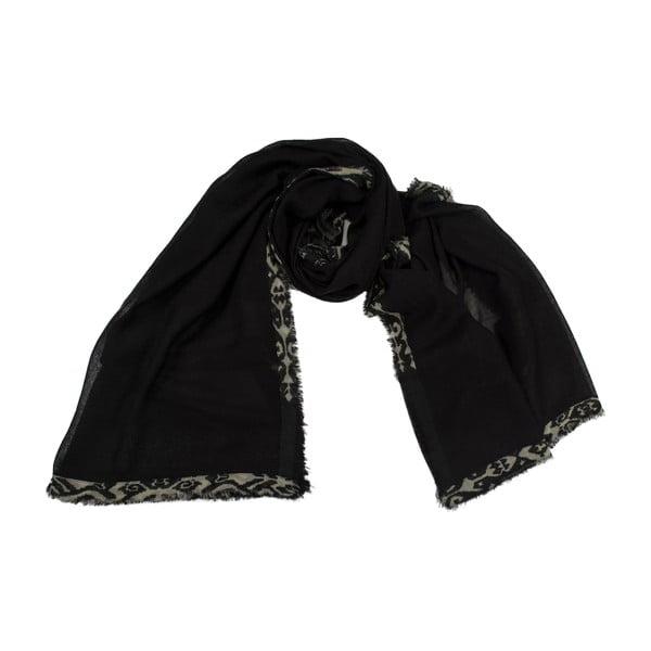 Vlněný šátek Shirin Sehan Ivy Night