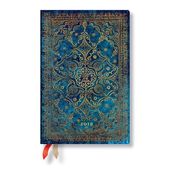 Azure Verso 2019-es határidőnapló, 9,5 x 14 cm - Paperblanks