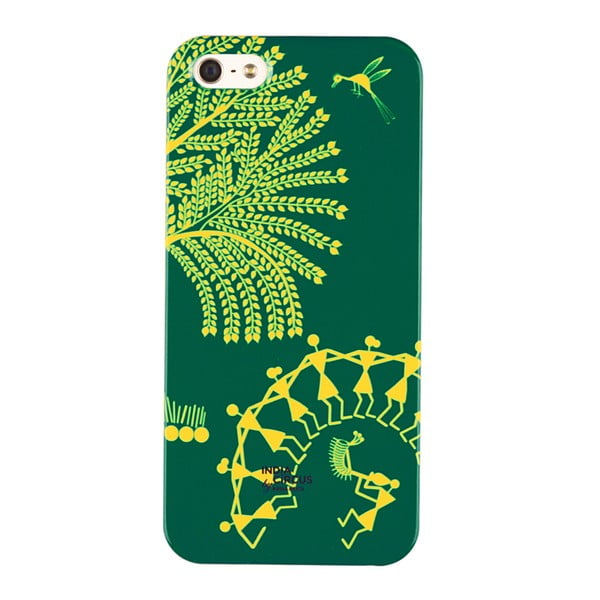 Obal na iPhone 5/5S Yellow Tree Warli