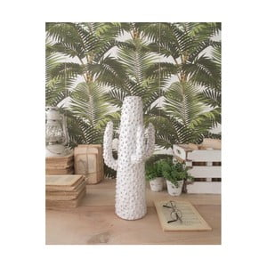 Bílá keramická soška Orchidea Milano Cactus Summer In Greece, výška40cm