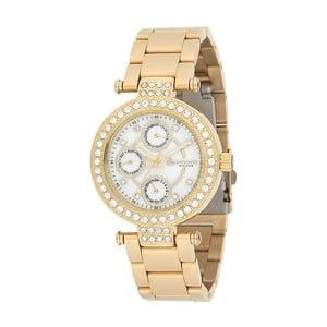 Dámské hodinky zlaté barvy z nerezové oceli Bigotti Milano Crystalino