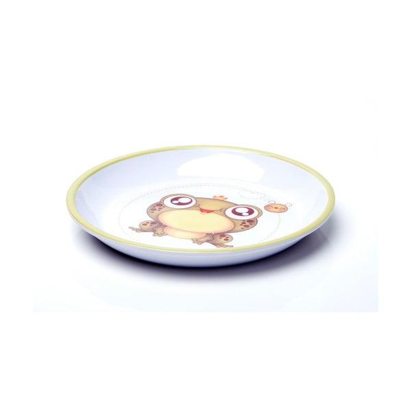 Dětské nádobí Lucky Little Moose Žabák Frankie, 5 ks