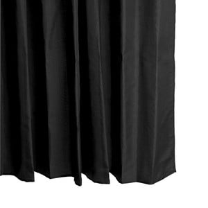 Černý sprchový závěs Galzone